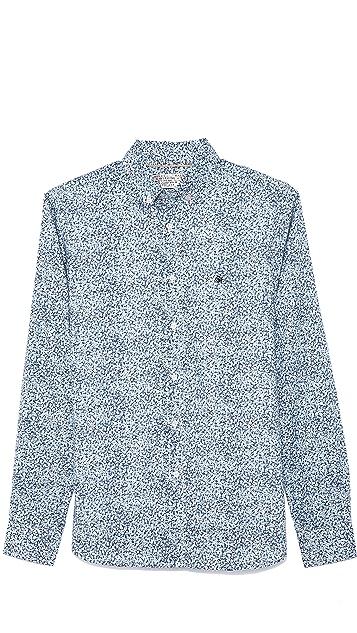 Shipley & Halmos Booster Floral Shirt