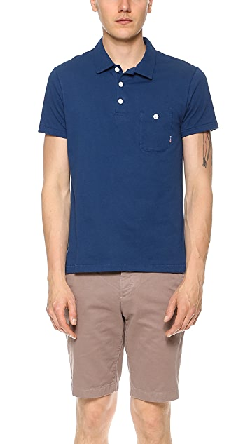 Shipley & Halmos Regent Pocket Polo