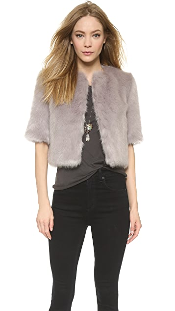 Shrimps Flint Cropped Jacket