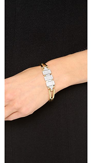 Sandy Hyun Geometric Bangle Bracelet