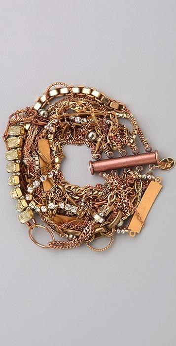 Sid Vintage Jewelry Multi Chain Bracelet