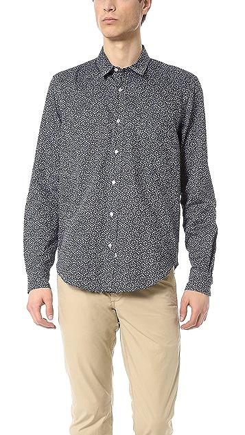 Sidian, Ersatz & Vanes Geometric Print Shirt