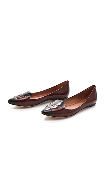 Sigerson Morrison Hadley Penny Flats