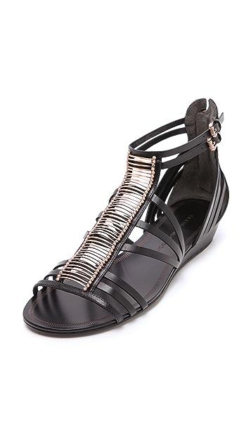 Sigerson Morrison Tiffany Wedge Sandals