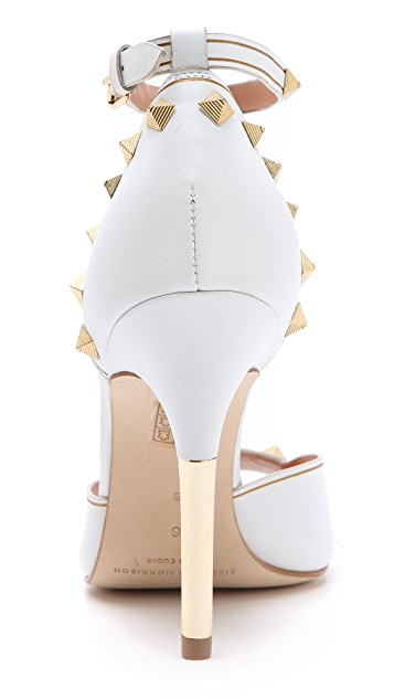 Sigerson Morrison Keiko High Heels with Studs