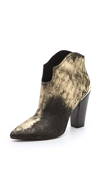 Sigerson Morrison Haircalf Vesta Booties