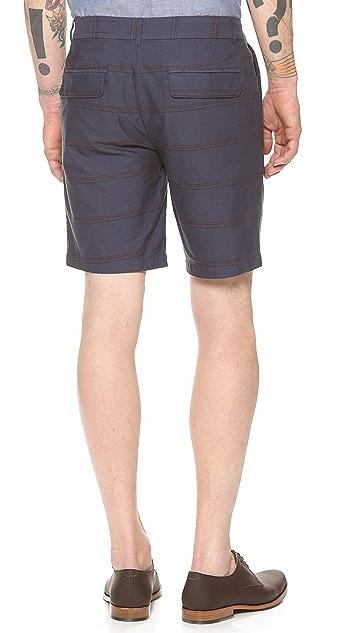 1670 HBC Wolfe Stripe Shorts