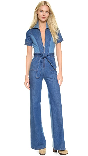 81acc4194 Stoned Immaculate Blue Jean Baby Jumpsuit