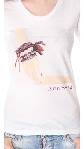 Sincerely Jules Arm Swag Tee