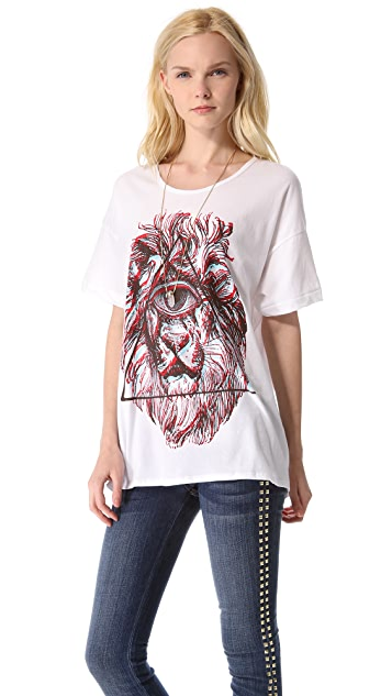 Sincerely Jules Cyclops Lion Tee