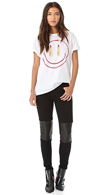 Sincerely Jules Smile, You've Got Lipstick On! Tee