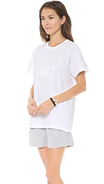 Sincerely Jules Ciao! Tee