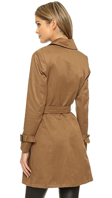 Sincerely Jules Camille Trench Coat
