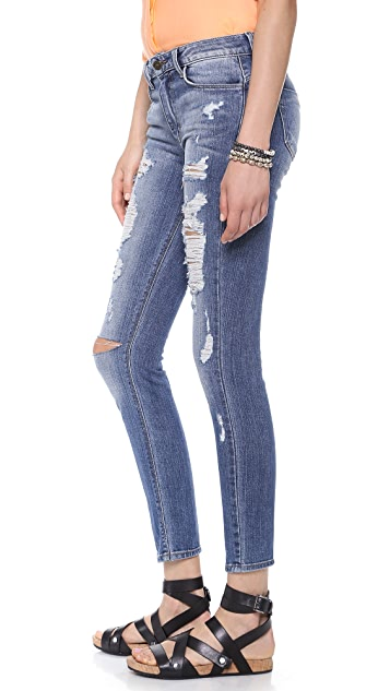 Siwy Ladonna Distressed Skinny Jeans
