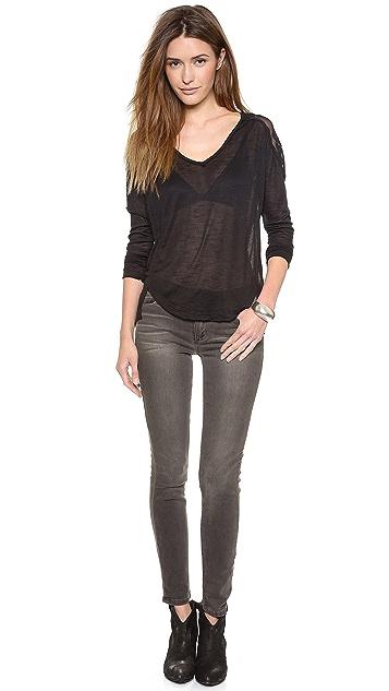 Siwy Ladonna Mid Rise Slim Jeans