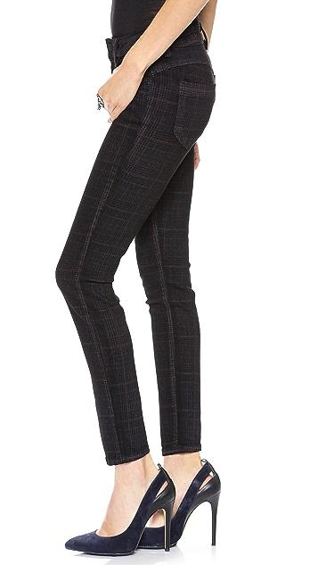 Siwy Ladonna Mid Rise Slim Crop Jeans