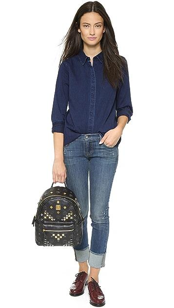 Siwy Adelaide Cuffed Slim Crop Jeans