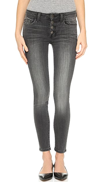 Siwy Amber Mid Rise Slim Crop Jeans