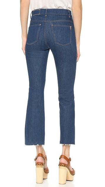 Siwy Укороченные расклешенные джинсы Emmylou