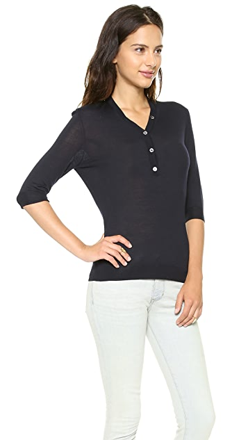 6397 Elbow Sleeve Henley
