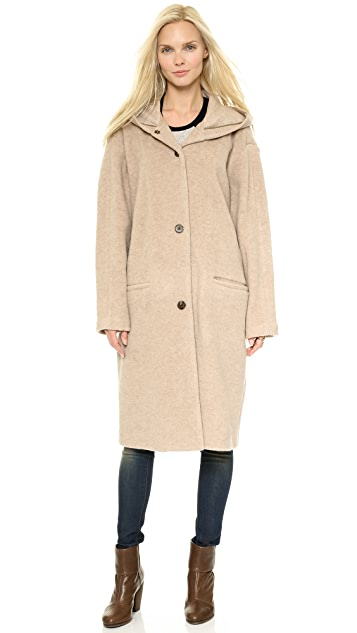 6397 Hooded Coat