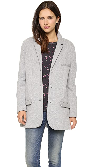 6397 Fleece Blazer
