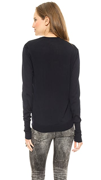 6397 Perfect V Neck Sweater