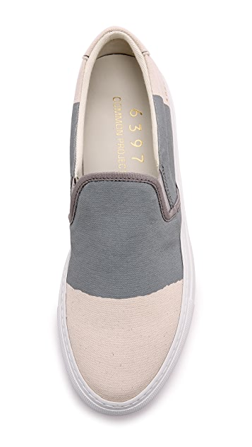 6397 6397 x Common Projects Slip On Sneakers