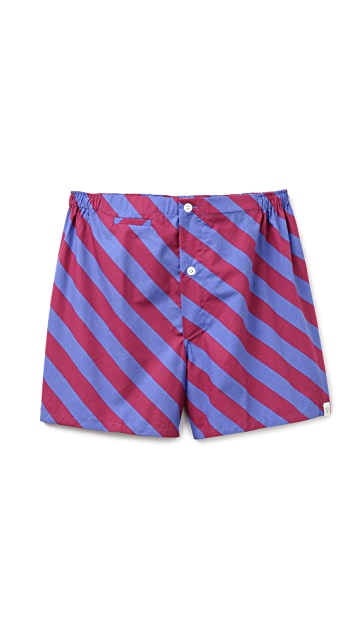 Sleepy Jones Repp Stripe Jasper Boxers