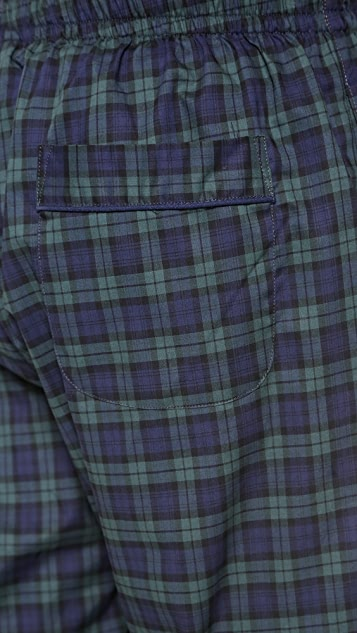 Sleepy Jones Black Watch Marcel Pajama Pants
