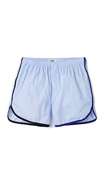Sleepy Jones Walt Track Boxer Shorts