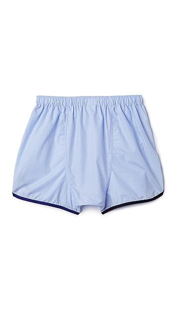 Sleepy Jones Walt Track Boxer Shorts