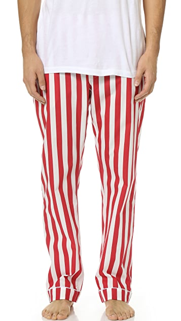 Sleepy Jones Marcel Tent Stripe Pajama Pants