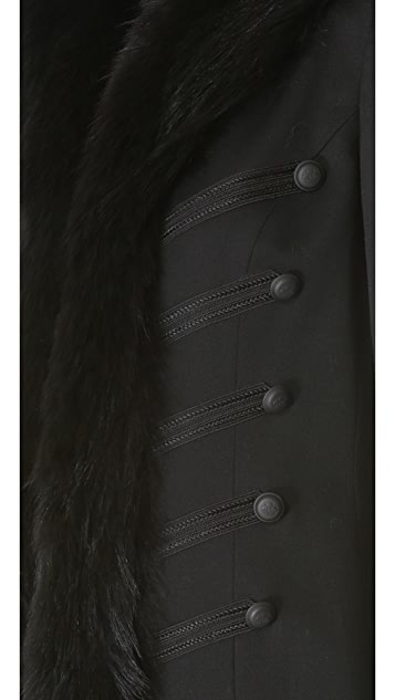 Skaist Taylor Band Jacket with Fur