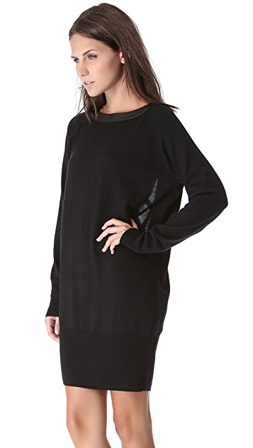 Skaist Taylor Crisscross Back Sweater Dress