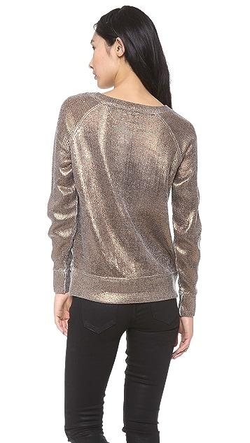Skaist Taylor Metallic Sweater