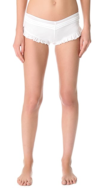 Skin Pleated Shorty Panty