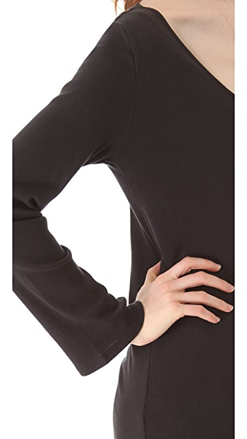Skin Pima Rib Tunic Top