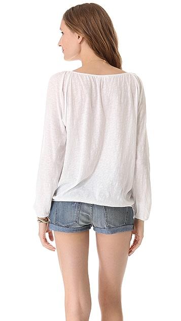 Skin Open Sleeve Pullover