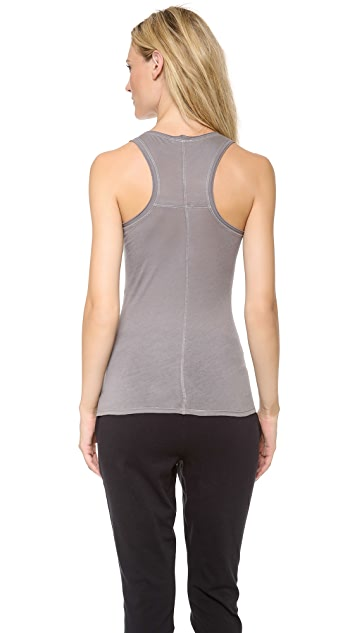 Skin Cotton Racer Back Tank