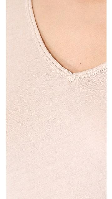 Skin Cotton Long Sleeve Tee