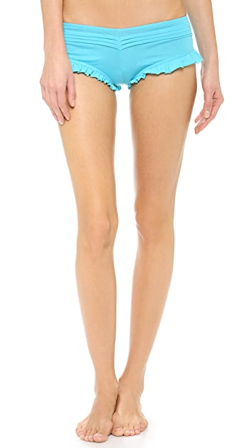 Skin Essential Pleated Shorts