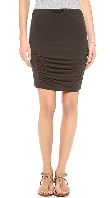 Skin Draped Skirt
