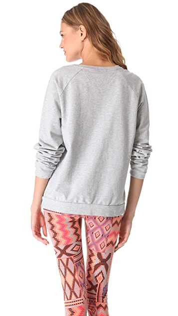 Sleep'n Round Cross Long Sleeve Top