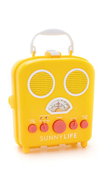 SunnyLife Beach Sounds Speaker & Radio