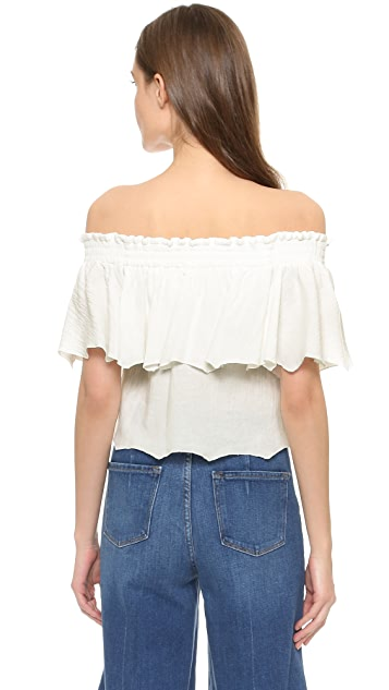 Somedays Lovin Bohemia Off Shoulder Top