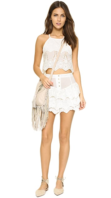 Somedays Lovin Serenade Lace Crop Top
