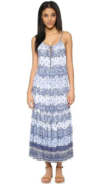 Somedays Lovin Open Eyes Tiered Maxi Dress