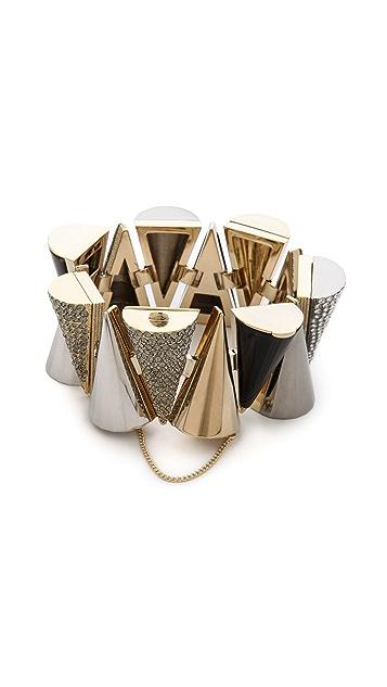 Sarah Magid Agate Pave Cone Bracelet