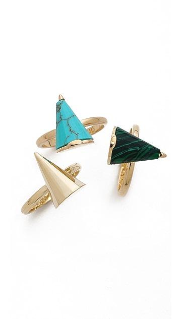 Sarah Magid Mini Reconsituted Cone Rings